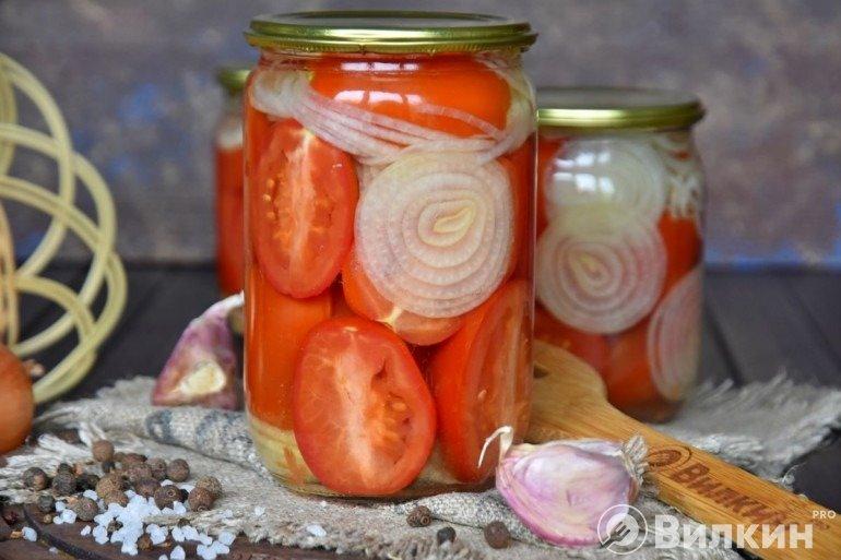 Маринованные помидоры «Пальчики оближешь»