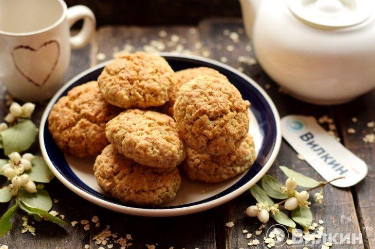 Овсяное печенье без яиц в домашних условиях