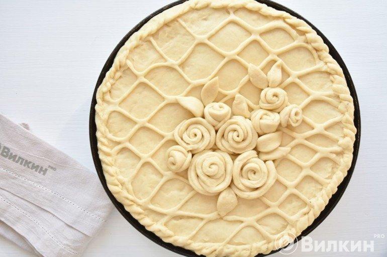 Украшение пирога