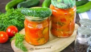 Салат «Ассорти» из овощей на зиму