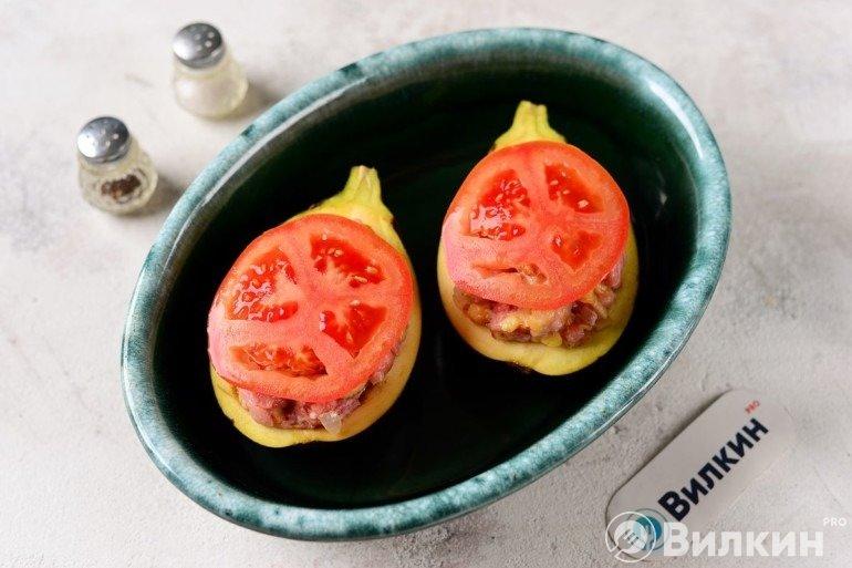 Ломтики томатов