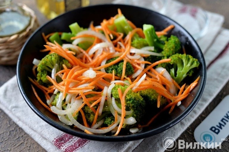 Соединение овощей и капусты