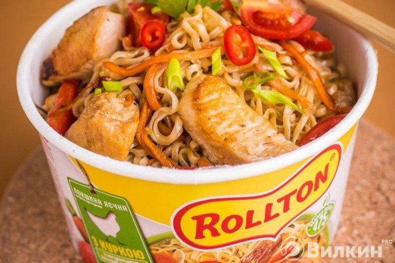 Повторяем еду из рекламы: как должна выглядеть лапша Роллтон