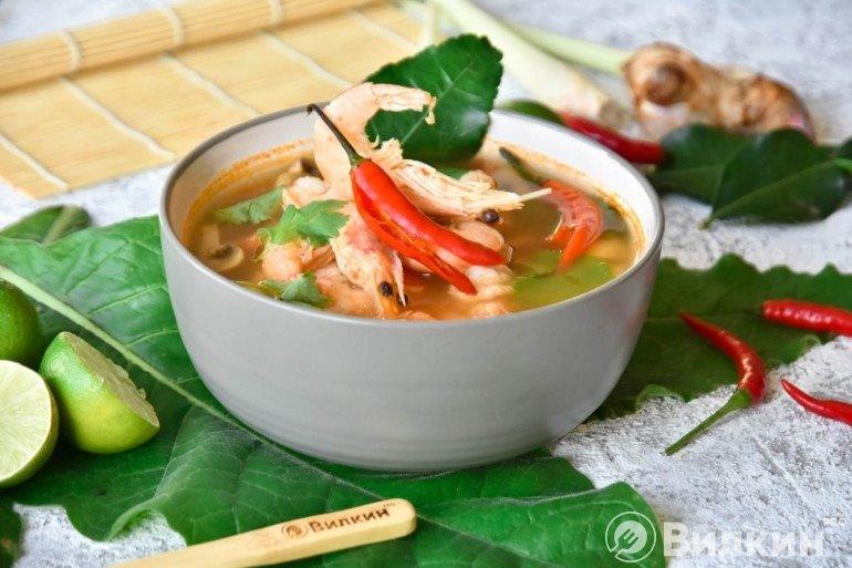 Суп Том Ям Кунг в домашних условиях
