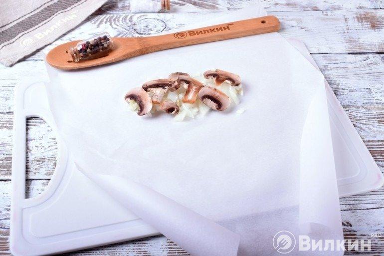 Укладка грибов