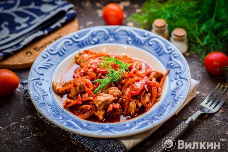 Мясо по-тайски в домашних условиях
