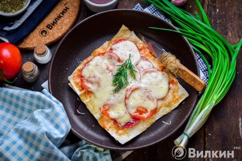 Пицца за 3 минуты