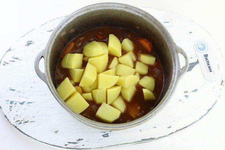 Закладка картошки
