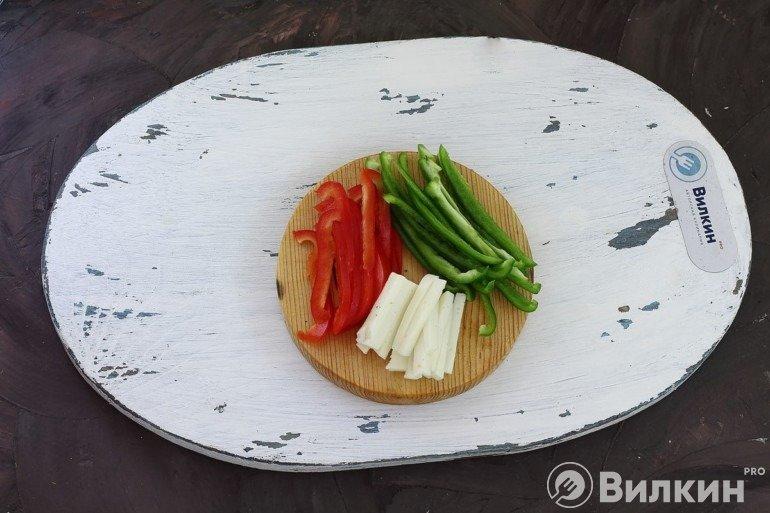 Перец и сыр