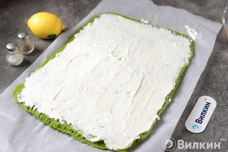 Смазывание сыром