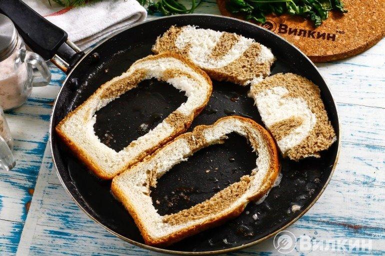 Жарка хлебных ободков
