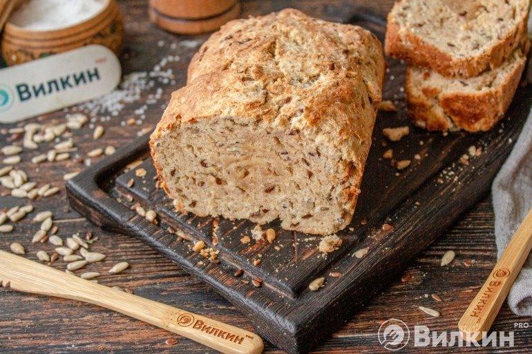 Хлеб из цельнозерновой муки в домашних условиях