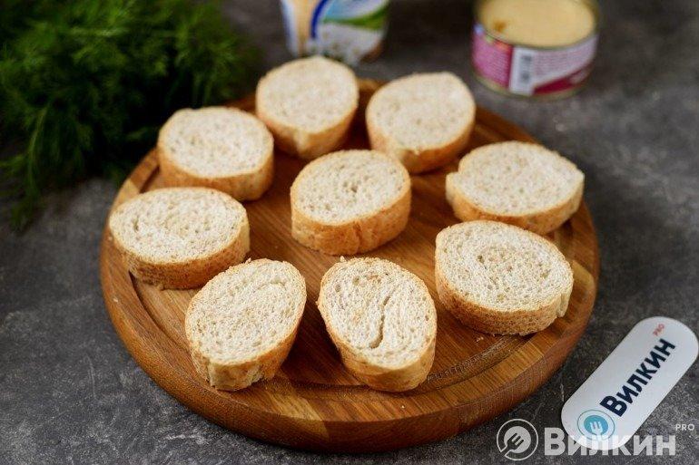 Подготовленный хлеб