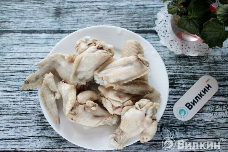 Вареное мясо птицы
