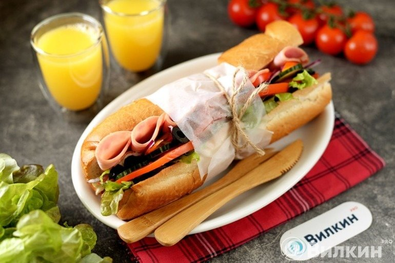 Сэндвич как в Subway