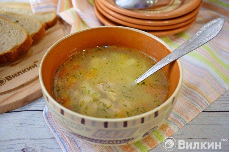 Суп харчо со свининой на обед