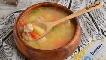 Суп с кускусом