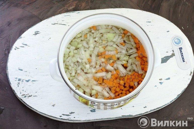 Закладка овощей