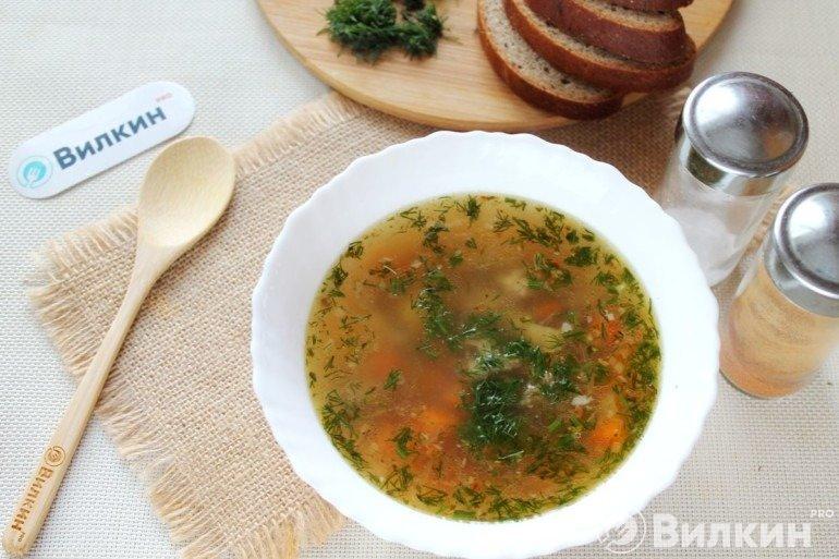 Суп с сельдереем стеблевым и бараниной
