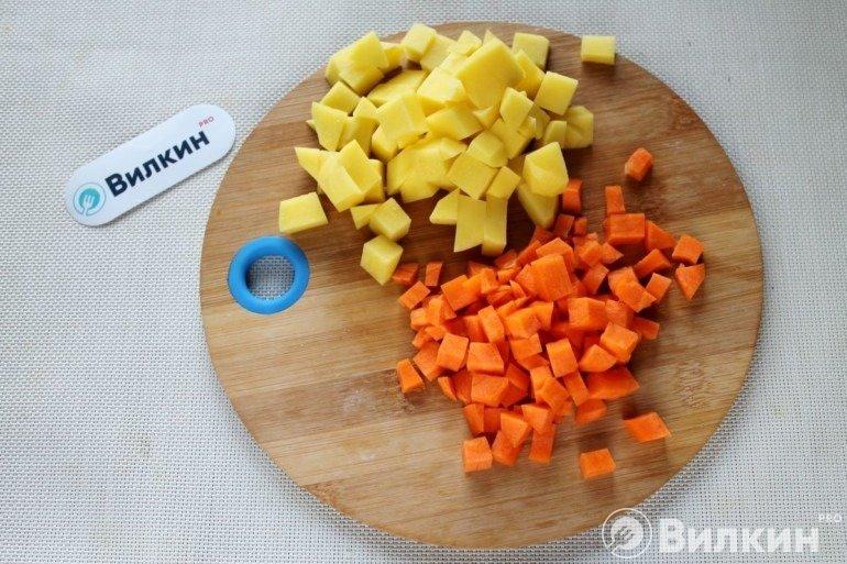 Морковь и картофель
