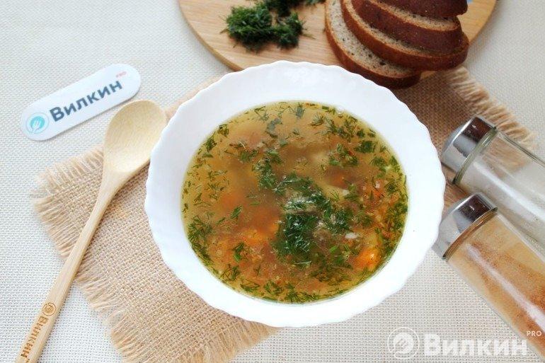 Суп с сельдереем стеблевым