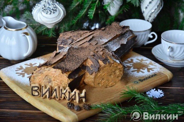 Торт «Полено»