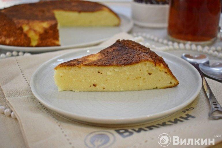 Нежный десерт из творога