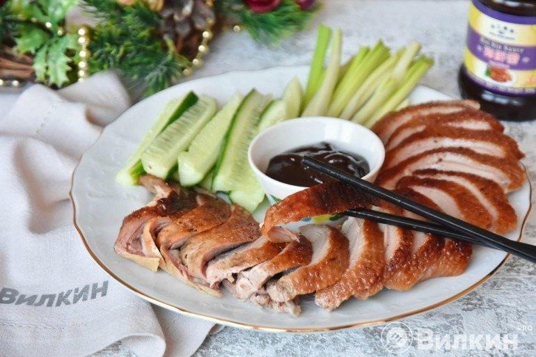 Утка по-пекински в домашних условиях