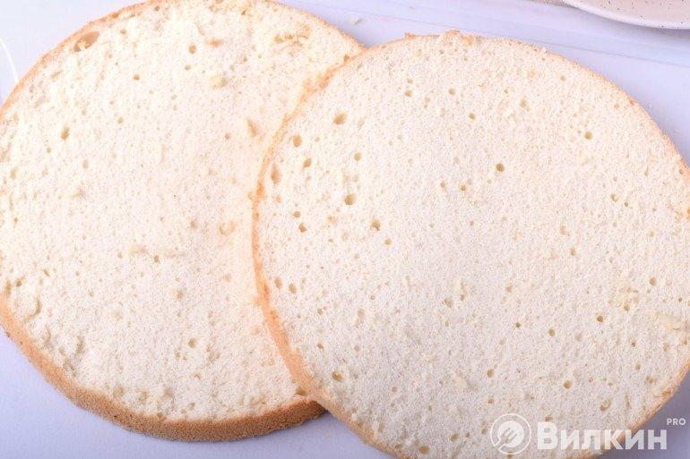 Структура бисквита