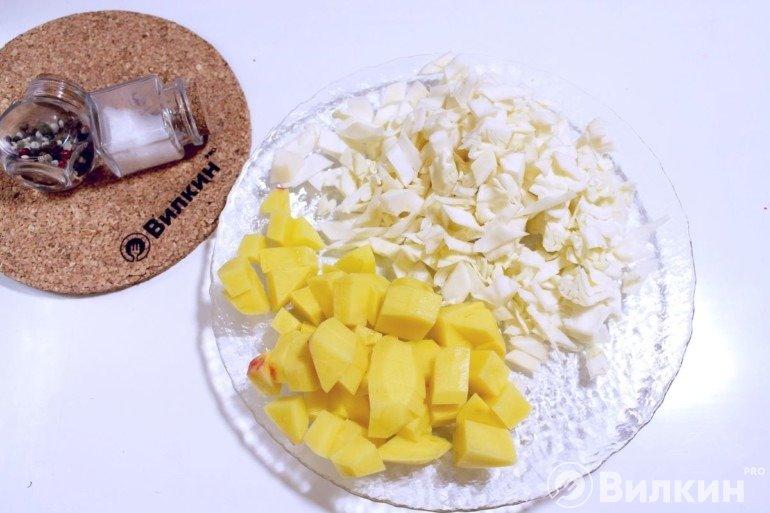 Капуста и картошка