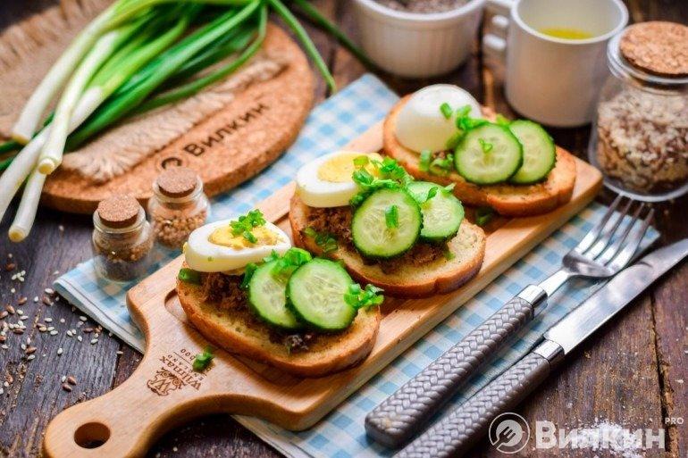 Готовые бутерброды