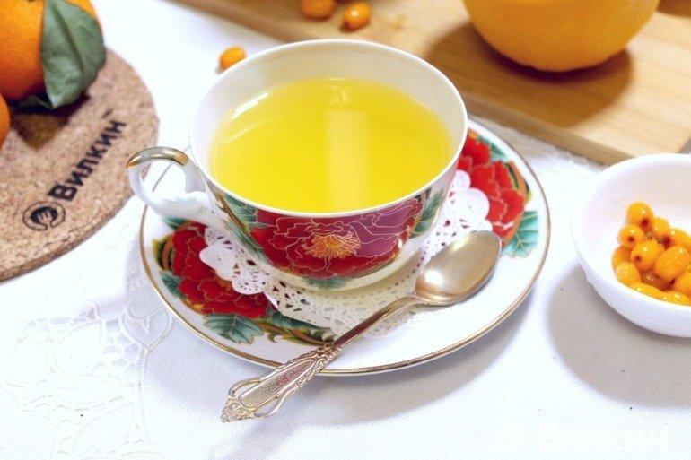 Подача чая на стол