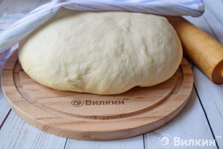 Дрожжевое тесто на скорую руку