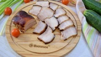 Мясо горячего копчения