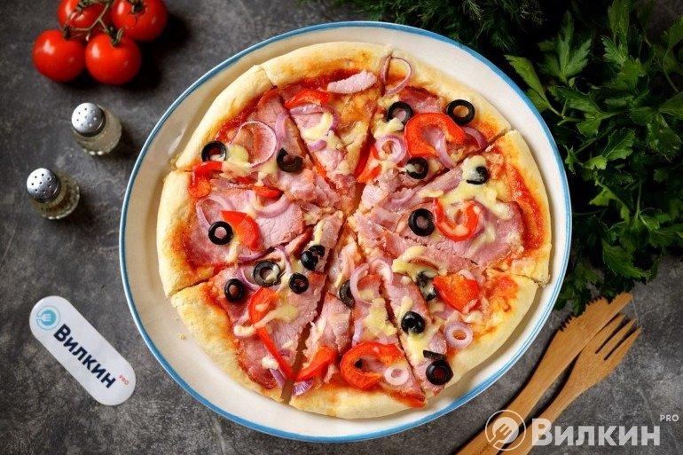 Пицца «Деревенская» в домашних условиях