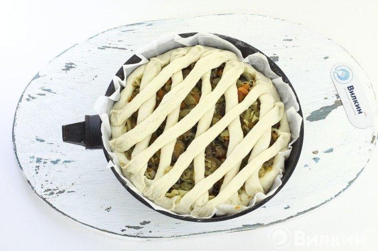 Формование пирога
