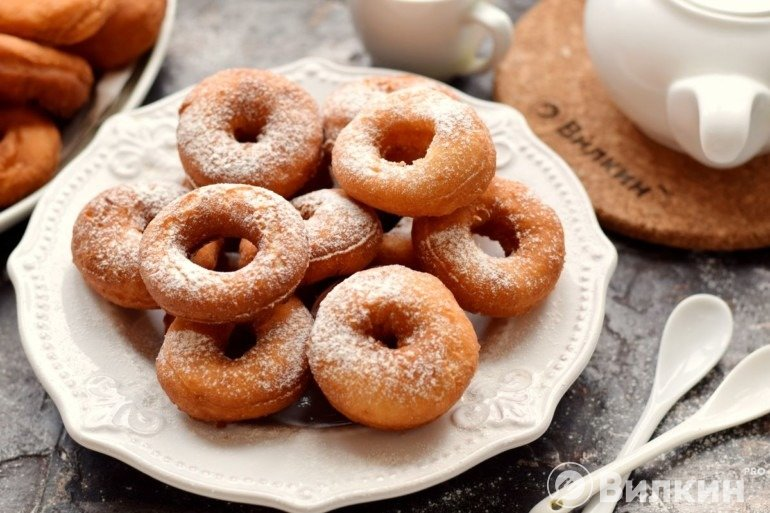 Пончики на сметане
