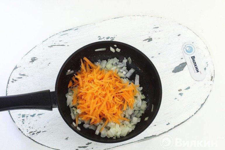 Закладка моркови