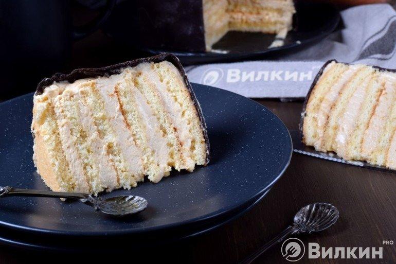 Кусочек торта Яндекс Дзен