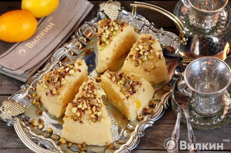 Турецкий десерт из манки «Янык Шекер»