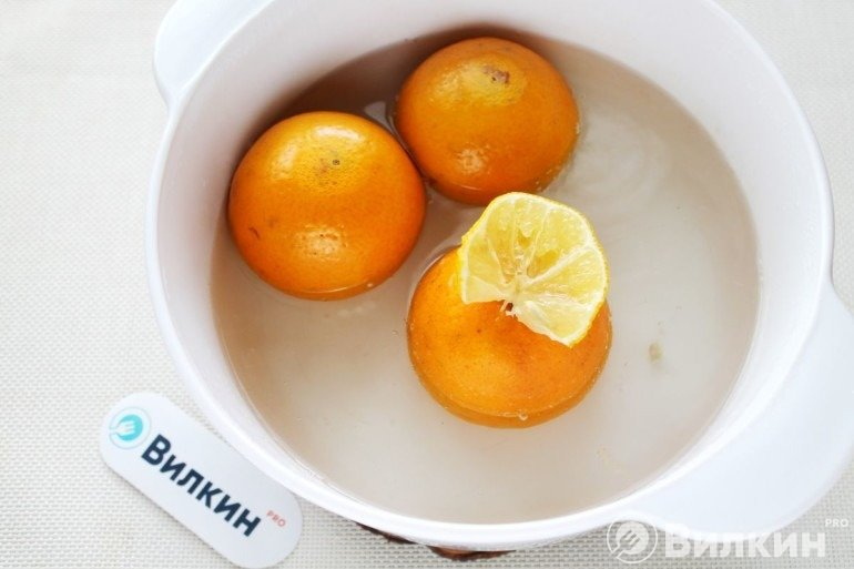 Варка с лимоном