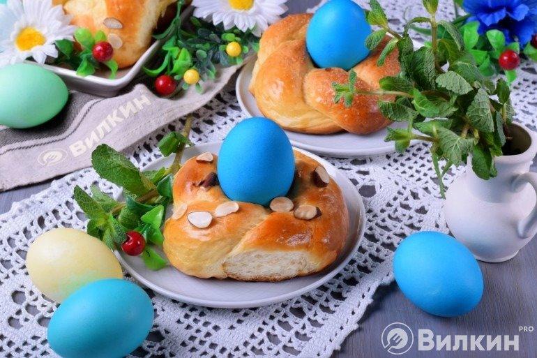 Сдобные булочки на Пасху