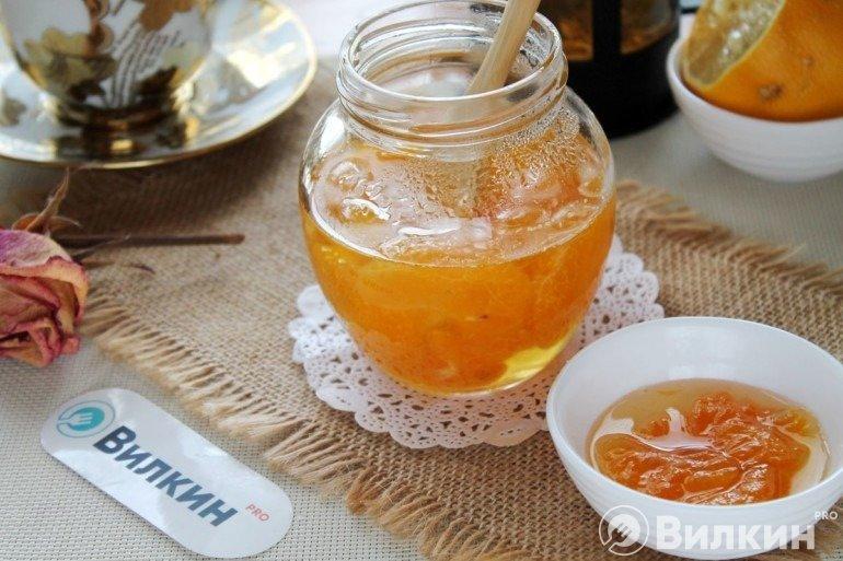 Варенье из мандаринов дольками