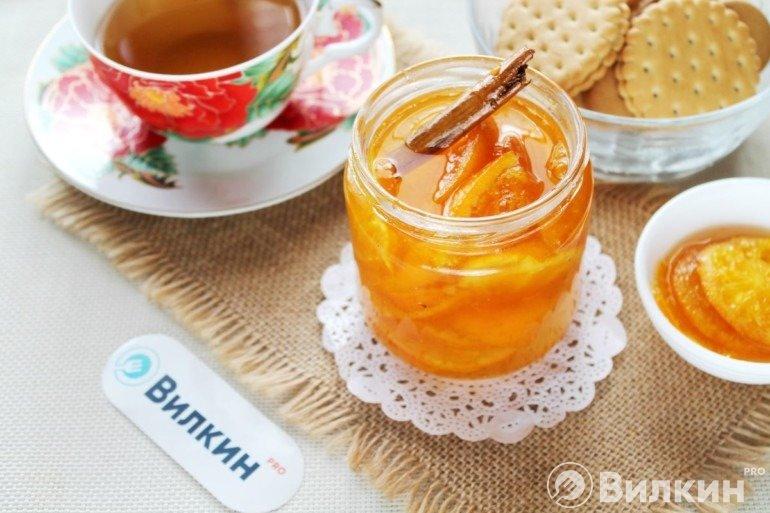 Варенье из мандаринов с кожурой в домашних условиях