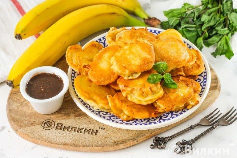 Жареные бананы в тесте