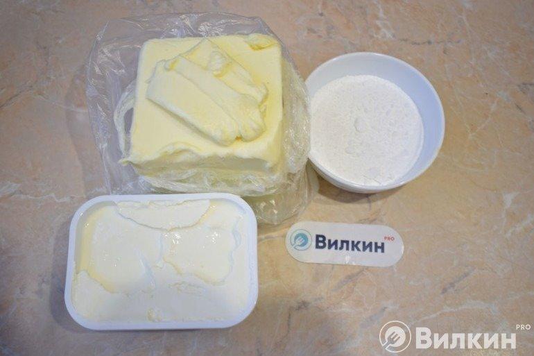Ингредиенты для крема чиз