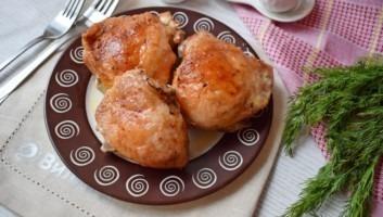 Курица на пиве в духовке
