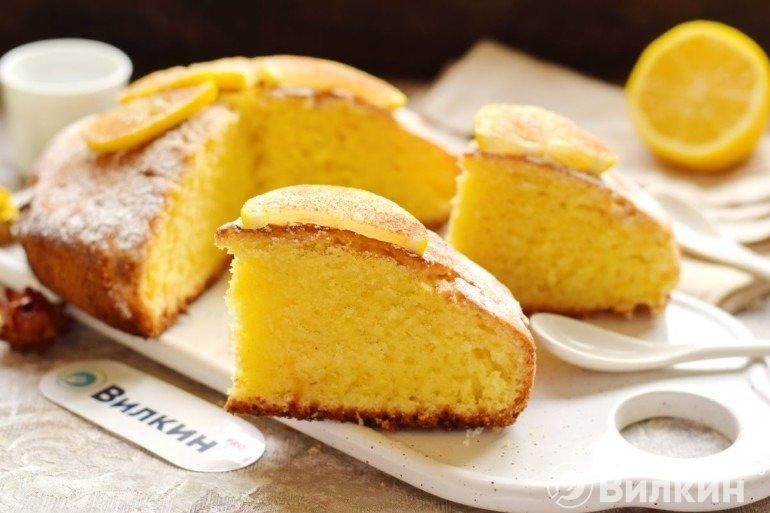 Лимонник (лимонный пирог)