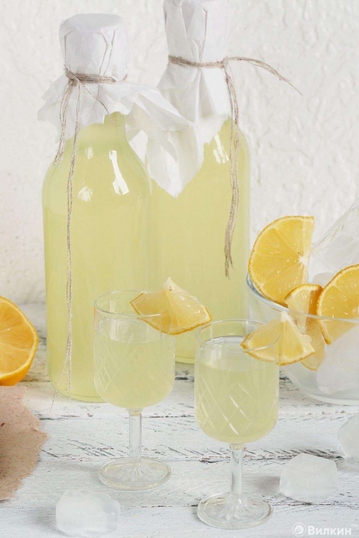 Настойка из лимонов на водке