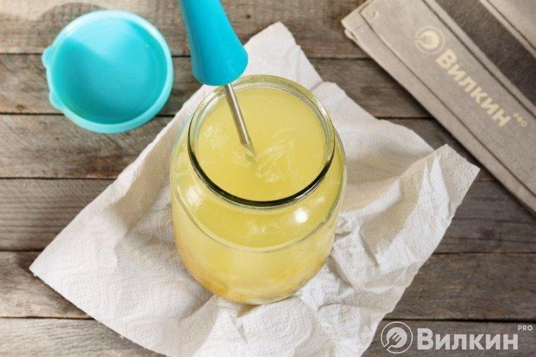 Давка лимонов картофелемялкой
